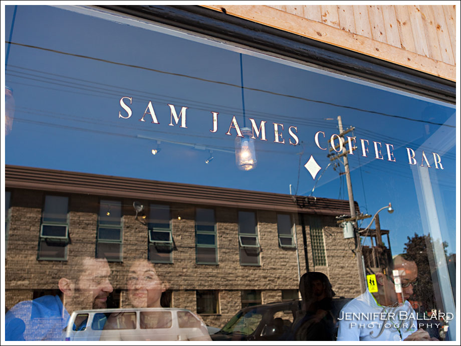 Toronto Engagement Photography - Sam James Coffee Bar