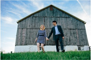 Ontario Farm Engagement Photographer
