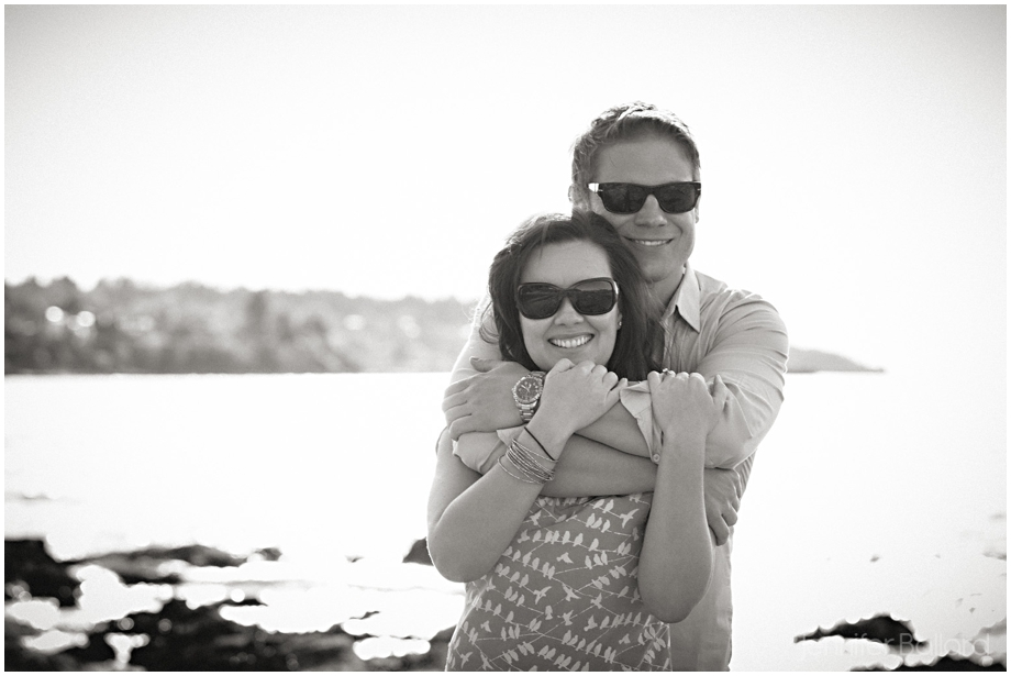 Vancouver Beach Engagement Photographer
