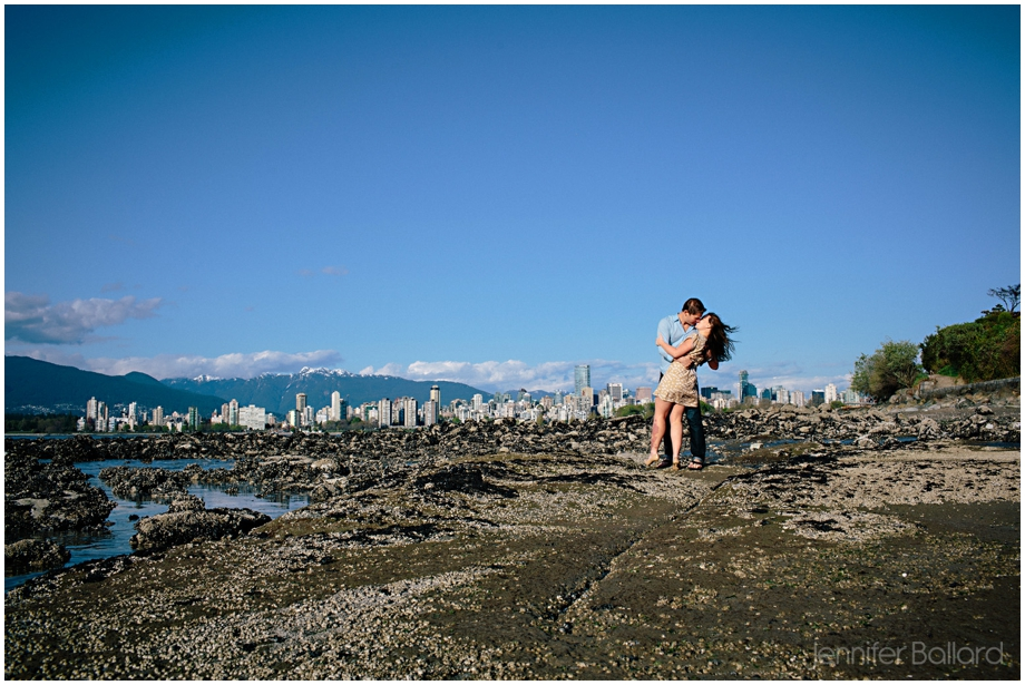 Vancouver Beach Engagement