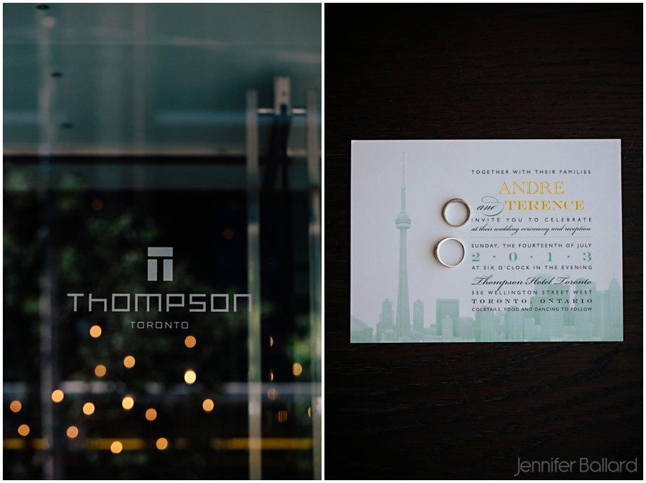 Thompson Hotel Wedding Photographer