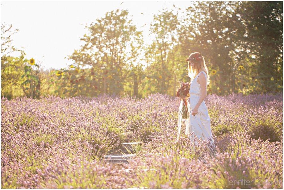 Victoria Lavender Farm Wedding