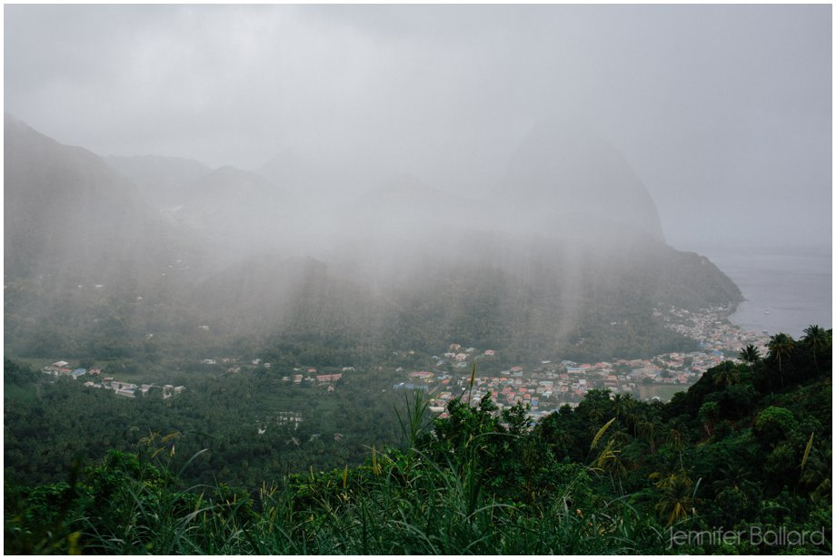 St. Lucia Piton Rain