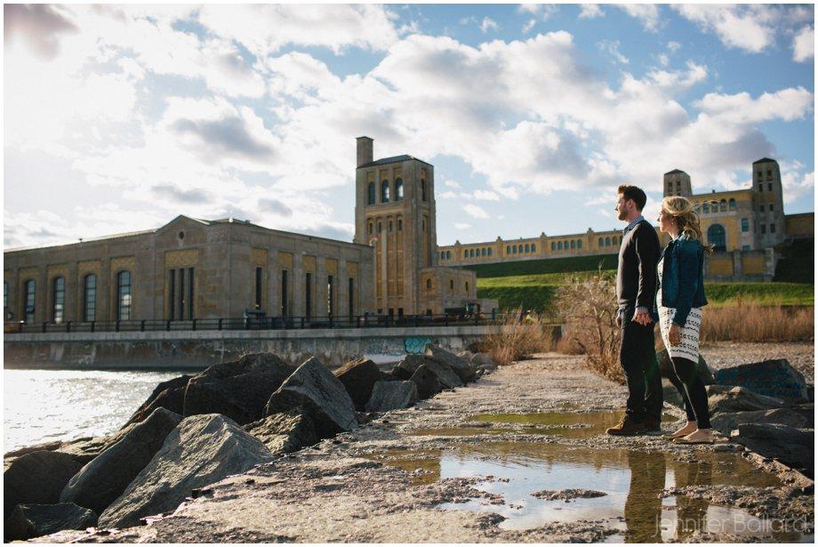 RC Harris Water Treatment Plant Engagement Photographer