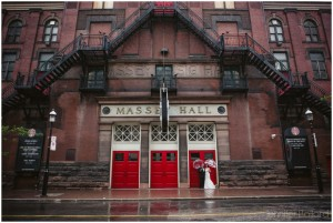 Massey Hall Wedding