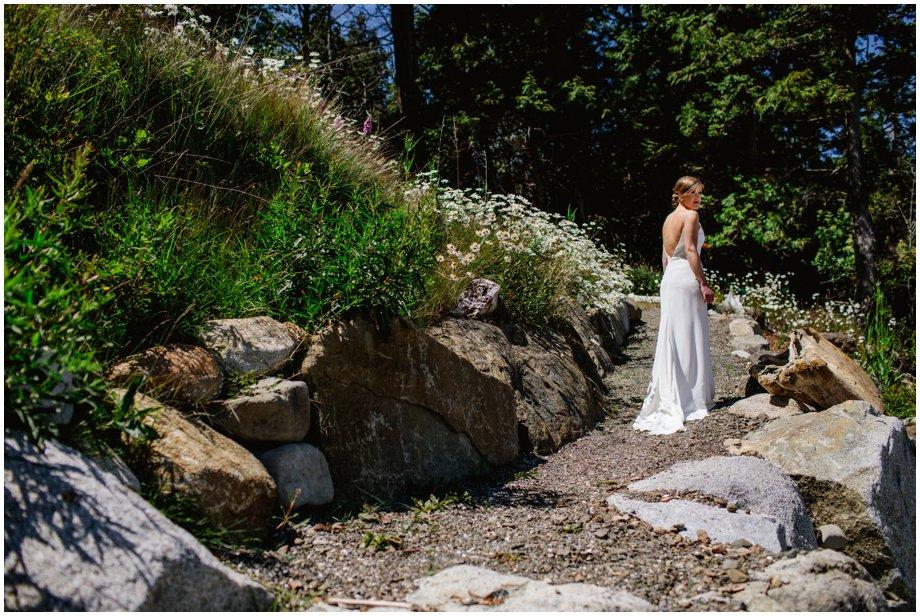 Intimate Pender Island Wedding