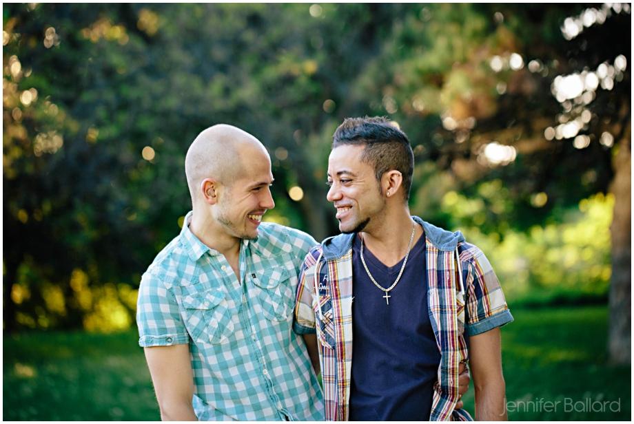 Downtown Toronto Gay Engagement Photographer