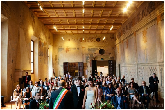 Sala dei Mori in Palazzo dei Pio in Carpi