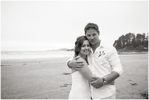 Cox Bay Beach Tofino Wedding Photographer