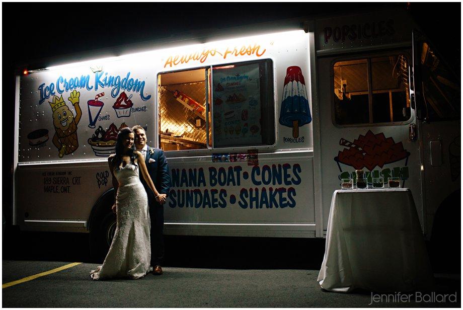 Ice Cream Truck Wedding Photographer