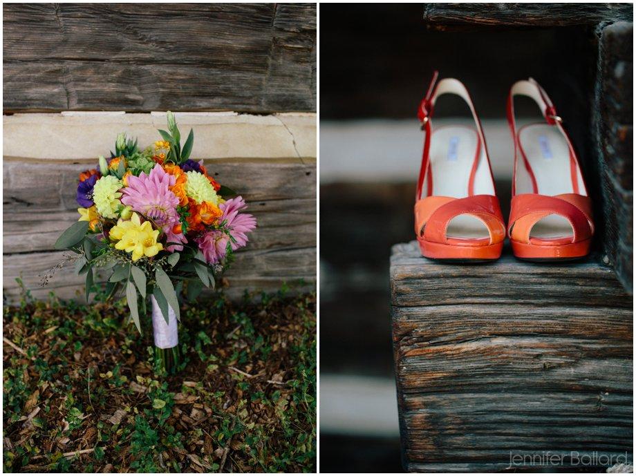 McMichael Gallery Wedding Photographer