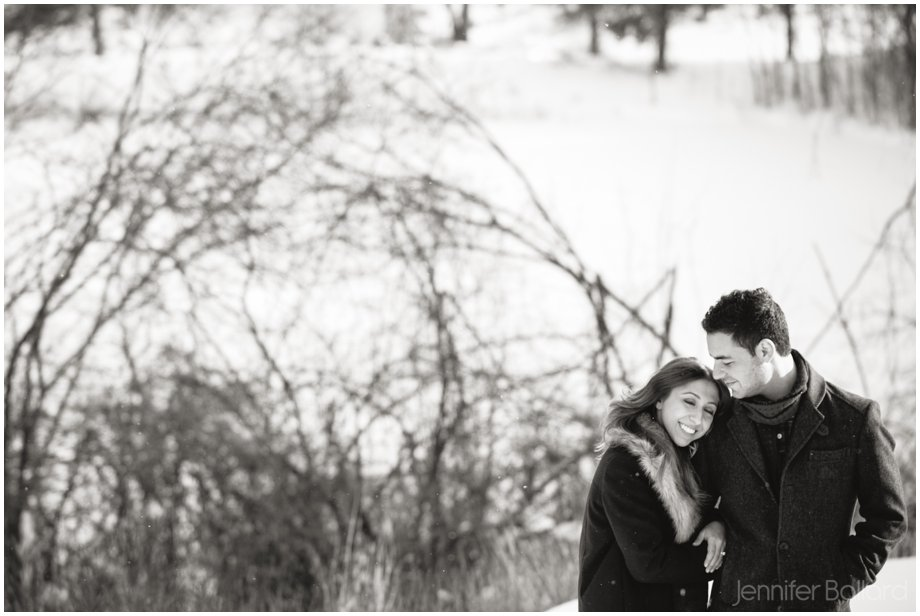 Toronto Winter Engagement Photographer