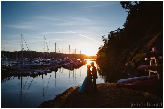 Pender Island Wedding