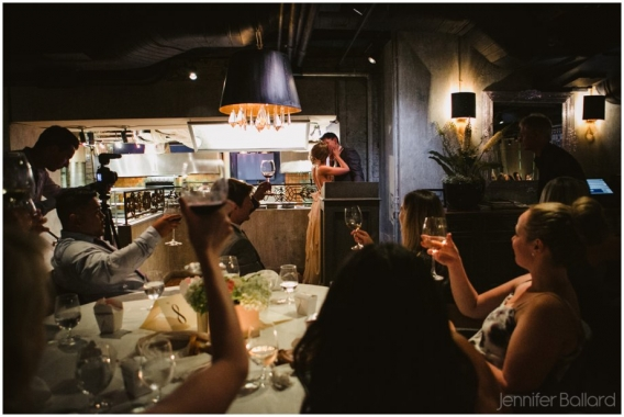 wedding George restaurant Toronto