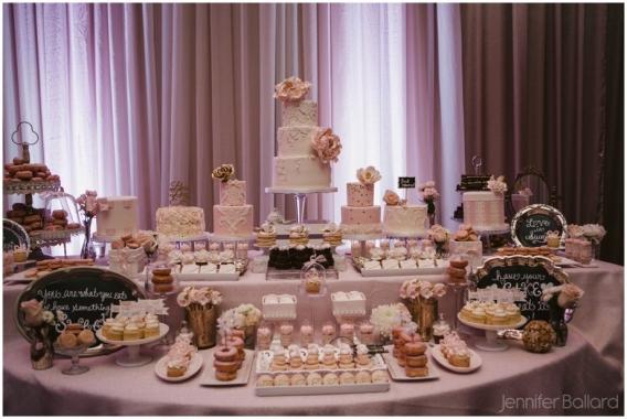 amazing cake table