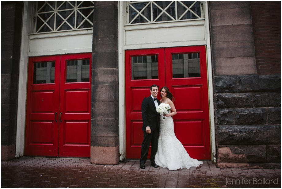 Rainy wedding day Massey Hall