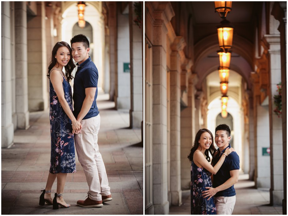 Downtown Toronto Engagement Photography