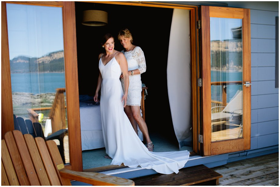 Intimate Pender Island Wedding